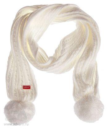 Шарф «Comfort», белый