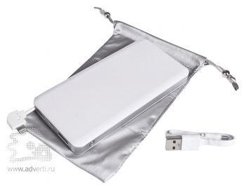Универсальный аккумулятор «Uniscend Tablet Power» 6000 mAh с чехлом