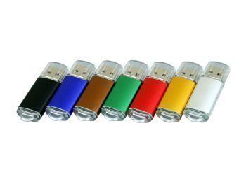 USB-флешка с прозрачным колпачком, все цвета