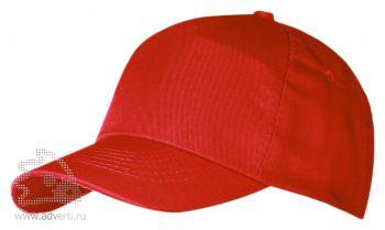 Бейсболка «Unit First», красная