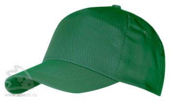Бейсболка «Unit First», зеленая