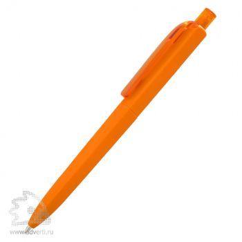 Ручка шариковая «DS8 PRR-Т Soft Touch», оранжевая