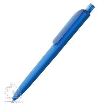Ручка шариковая «DS8 PRR-Т Soft Touch», голубая