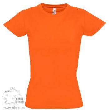 Футболка «Imperial Women 190», женская, оранжевая