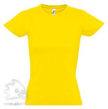 Футболка «Imperial Women 190», женская, желтая