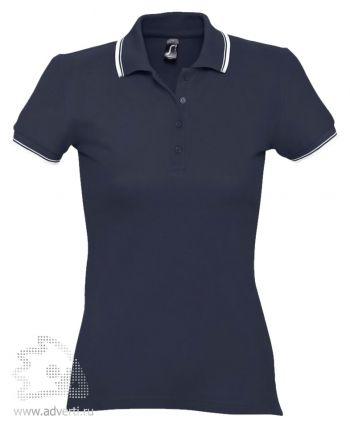 Рубашка поло «Practice Women 270», женская, темно-синяя