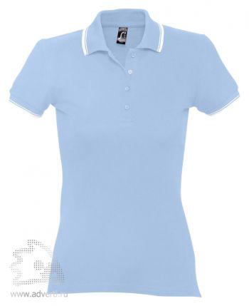 Рубашка поло «Practice Women 270», женская, голубая