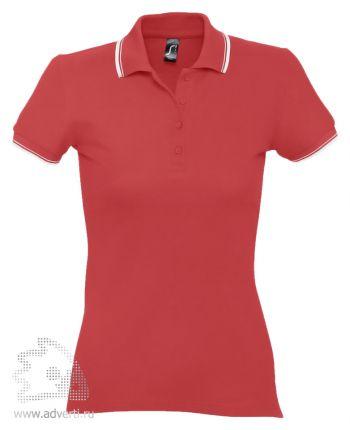 Рубашка поло «Practice Women 270», женская, красная