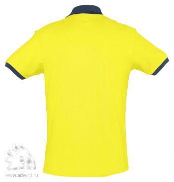 Рубашка поло «Prince 190», мужская, спина