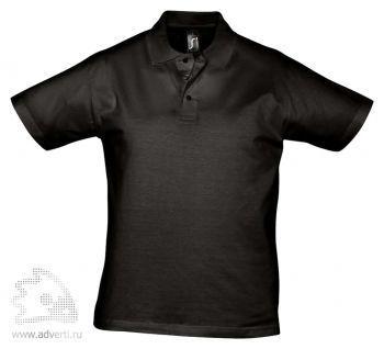 Рубашка поло «Prescott 170», мужская, черная