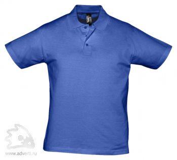 Рубашка поло «Prescott 170», мужская, синяя