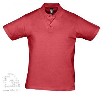 Рубашка поло «Prescott 170», мужская, красная