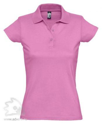 Рубашка поло «Prescott Women 170», женская, розовая