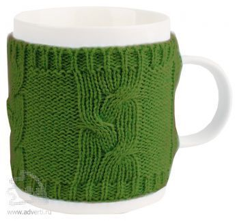 Кружка «Уют», зеленая
