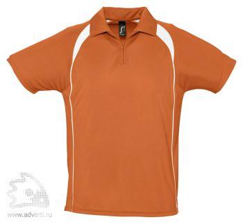 Спортивная рубашка поло «Palladium 140», мужская, оранжевая