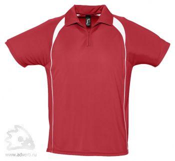 Спортивная рубашка поло «Palladium 140», мужская, красная