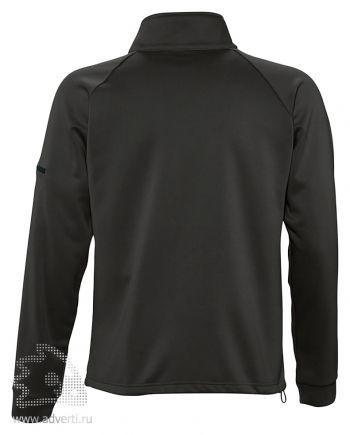 Куртка флисовая «New Look 250», мужская, Sol's, Франция, дизайн спины