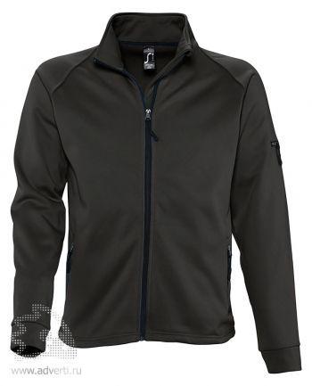 Куртка флисовая «New Look 250», мужская, Sol's, Франция, черная
