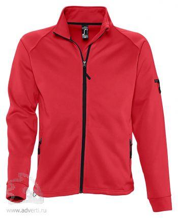 Куртка флисовая «New Look 250», мужская, Sol's, Франция, красная