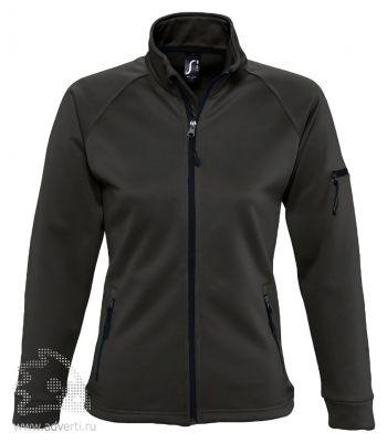 Куртка флисовая «New Look Women 250», женская, Sol's, Франция, черная