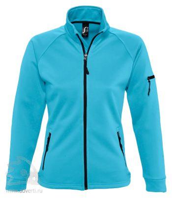Куртка флисовая «New Look Women 250», женская, Sol's, Франция, бирюзовая