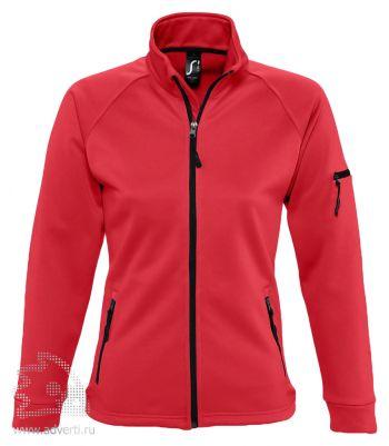 Куртка флисовая «New Look Women 250», женская, Sol's, Франция, красная