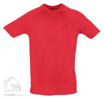 Футболка рабочая «Mega Pro 190», мужская, красная