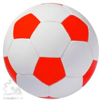 Мяч футбольный «Street», красный