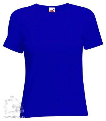 Футболка «Lady-Fit Crew Neck T», женская, синяя