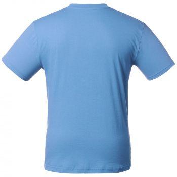 Футболка «T-Bolka 160», унисекс, голубая, спина
