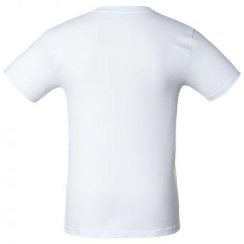 Футболка «T-Bolka 160», унисекс, белая, спина