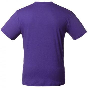 Футболка «T-Bolka 160», унисекс, фиолетовая, спина