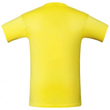 Футболка «T-Bolka 160», унисекс, ярко-жёлтаяФутболка «T-Bolka 160», унисекс, ярко-жёлтая, спина