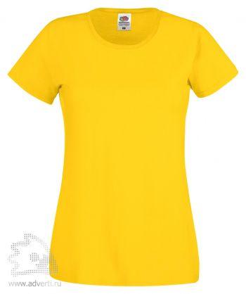 Футболка «Original T», женская, желтая