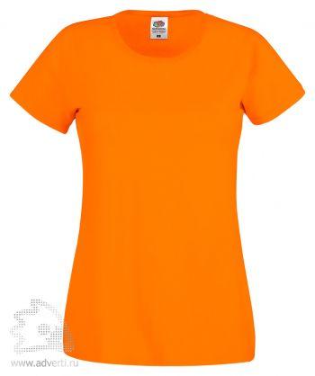 Футболка «Original T», женская, оранжевая