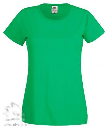 Футболка «Original T», женская, зеленая