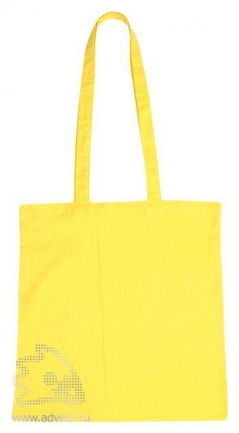 Сумка для шопинга с длинными ручками, желтый