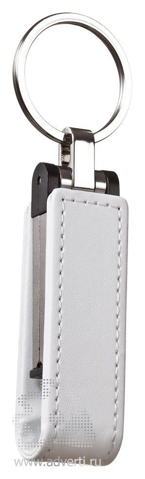 Флешка с магнитной застежкой «Cash», белая