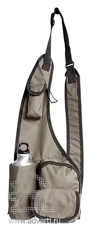 Набор для выживания «Последний герой»: сумка-чехол с отделениями и плечевым ремнем