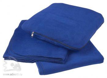 Плед-подушка «Travel», синий