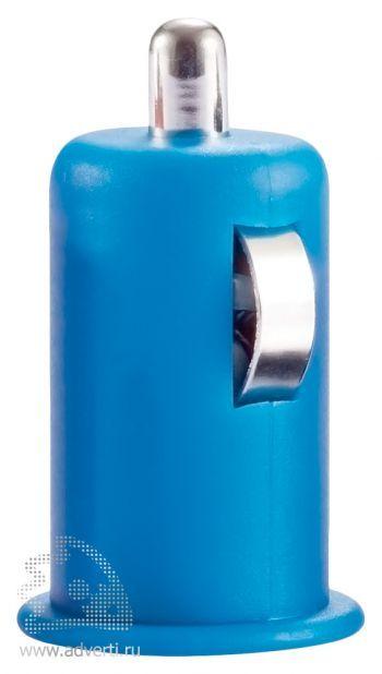 Автомобильное зарядное устройство «Попутчик», синее