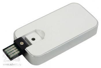Флеш-карта USB 2.0 на 4 Gb с функцией зажигалки, открытая