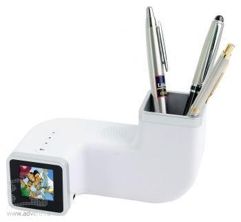 Цифровая фоторамка с часами,будильником, подставкой под ручки