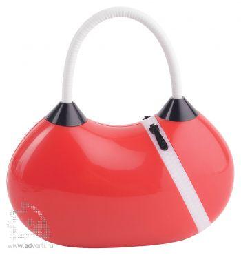 Cкладная светодиодная лампа «Фриско», красная