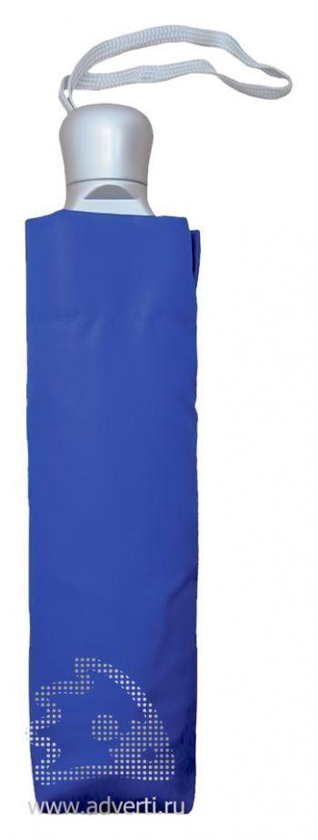 Зонт для двоих складной, механический, 3 сложения, общий дизайн