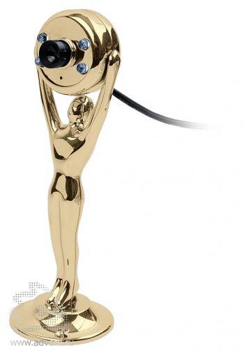 USB веб-камера с подсветкой в виде статуэтки «Оскар»