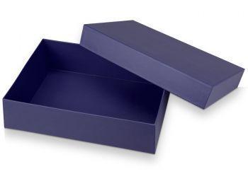Подарочная коробка «Corners» большая, синяя, в открытом виде