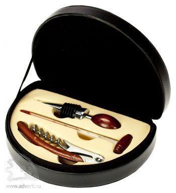 Набор для вина: нож сомелье, термометр, пробка