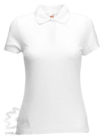 Рубашка поло «Lady-Fit 65/35 Polo», женская, белая