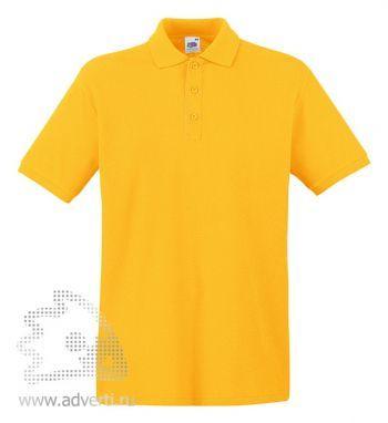 Рубашка поло «Premium Polo», мужская, желтая
